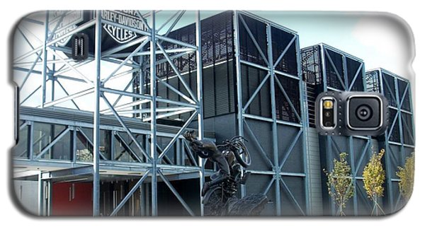 Harley Museum And Statue Galaxy S5 Case