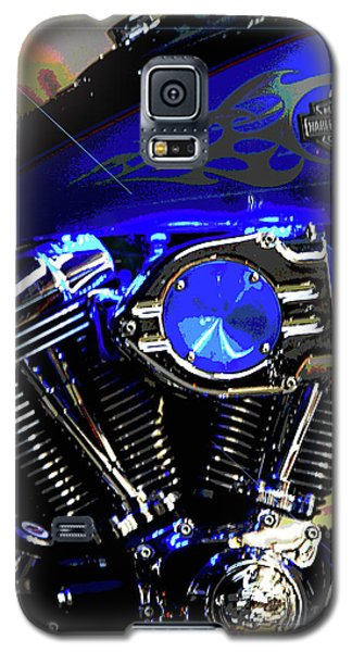 Harleys Twins Galaxy S5 Case by DigiArt Diaries by Vicky B Fuller