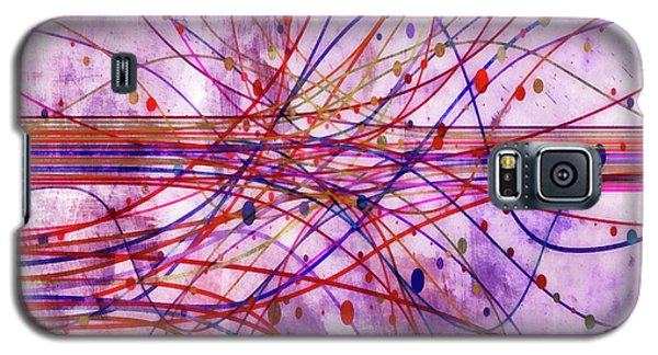 Galaxy S5 Case featuring the digital art Harnessing Energy 2 by Angelina Vick