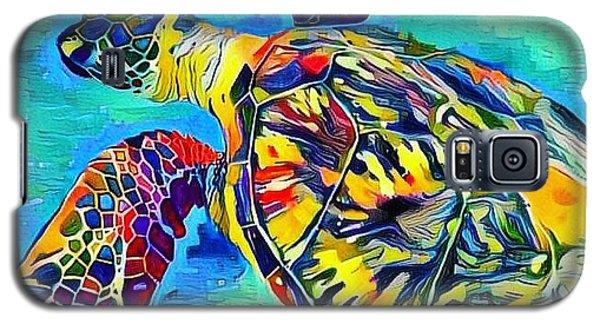 Harold The Turtle Galaxy S5 Case by Erika Swartzkopf