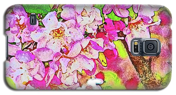 Galaxy S5 Case featuring the photograph Harp Blossoms by Lenore Senior