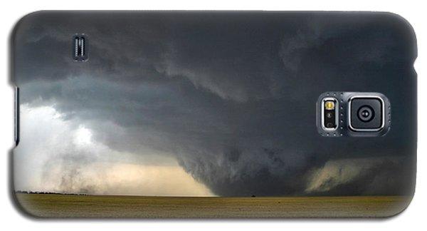 Galaxy S5 Case featuring the photograph Harper Kansas Tornado 2  by James Menzies