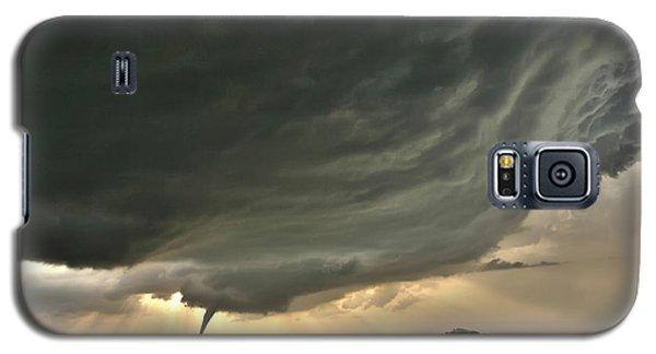 Galaxy S5 Case featuring the photograph Harper Kansas Tornado by James Menzies