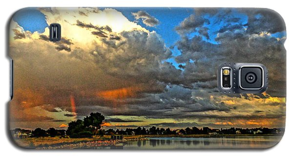 Galaxy S5 Case featuring the photograph Harper Lake by Eric Dee