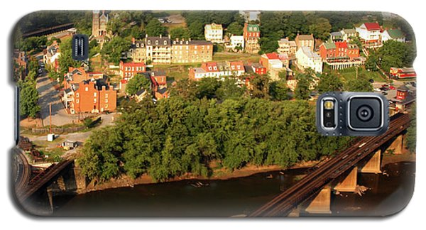 Galaxy S5 Case featuring the photograph Harpers Ferry by Mitch Cat