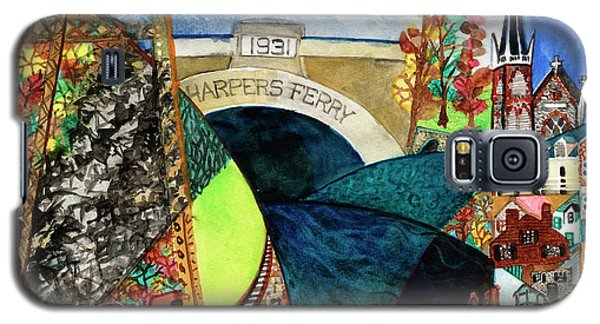 Harpers Ferry Rivers, Railroads, Revolvers Galaxy S5 Case