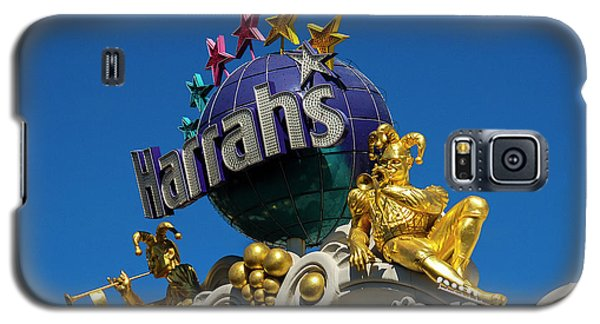 Harrah's Casino Sign On The Las Vegas Strip Galaxy S5 Case