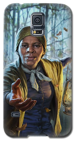 Train Galaxy S5 Case - Harriet Tubman by Mark Fredrickson
