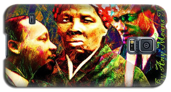 Harriet Tubman Martin Luther King Jr Malcolm X 20160421 Text Galaxy S5 Case