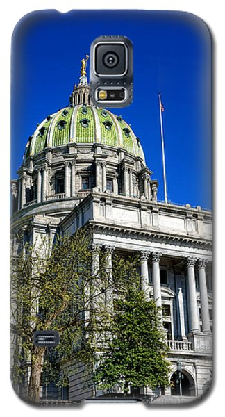 Capitol Building Galaxy S5 Case - Harrisburg Capitol Building by Olivier Le Queinec