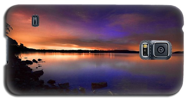 Harrison Bay At Night Galaxy S5 Case by Steven Llorca