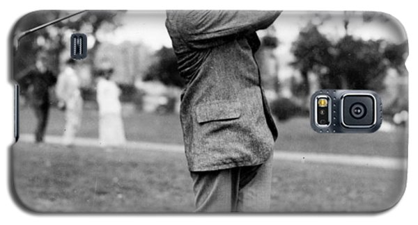 Harry Vardon - Golfer Galaxy S5 Case by International  Images