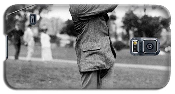 Harry Vardon - Golfer Galaxy S5 Case by International  Images