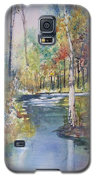 Hartman Creek Birches Galaxy S5 Case