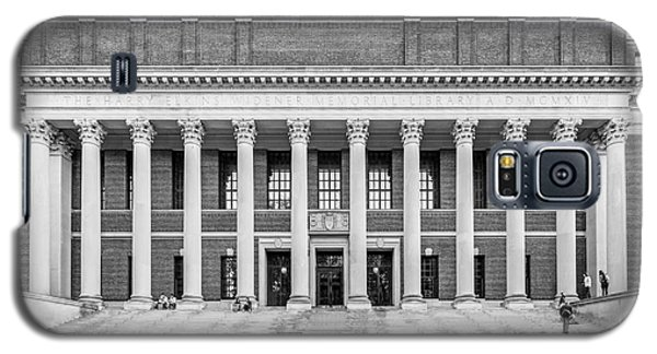 Widener Library At Harvard University Galaxy S5 Case by University Icons