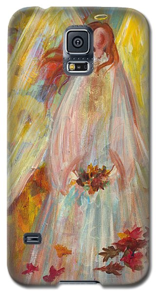 Harvest Autumn Angel Galaxy S5 Case