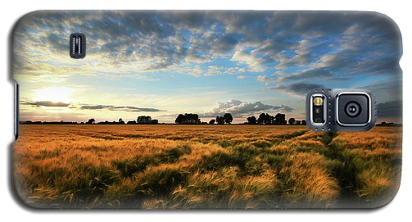 Galaxy S5 Case featuring the photograph Harvest by Franziskus Pfleghart