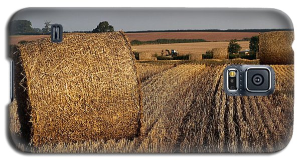 Galaxy S5 Case featuring the photograph Harvest by Gary Bridger