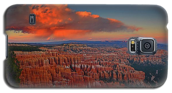 Harvest Moon Over Bryce National Park Galaxy S5 Case