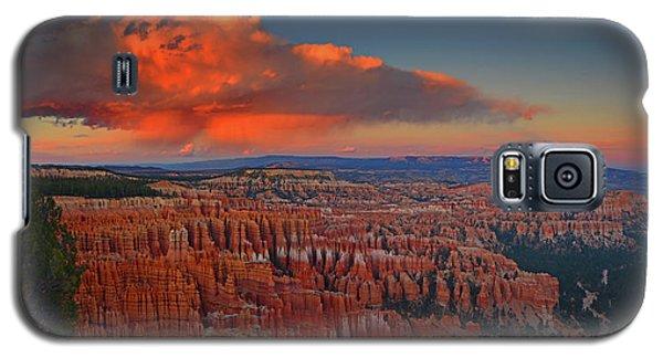 Harvest Moon Over Bryce National Park Galaxy S5 Case by Raymond Salani III