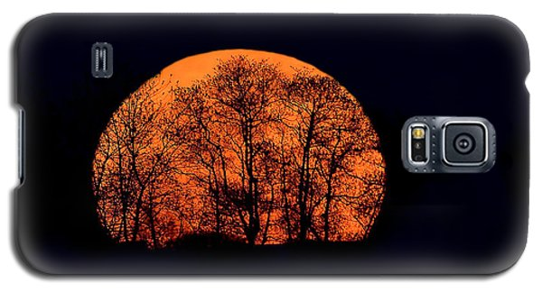 Harvest  Moon Rising Galaxy S5 Case