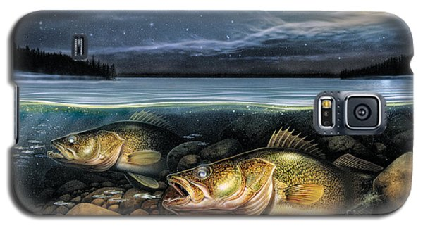 Harvest Moon Walleye 1 Galaxy S5 Case by JQ Licensing