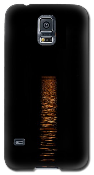 Galaxy S5 Case featuring the photograph Harvest Moonrise by Paul Freidlund