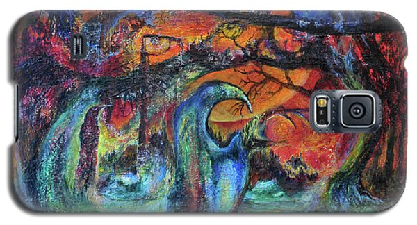 Harvesters Of The Autumnal Swamp Galaxy S5 Case