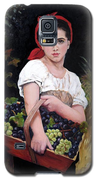Harvesting The Grapes Galaxy S5 Case by Sandra Nardone