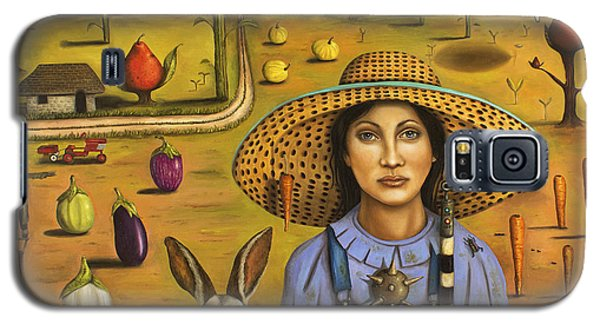 Harvey And The Eccentric Farmer Galaxy S5 Case by Leah Saulnier The Painting Maniac