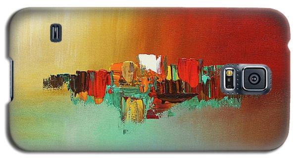 Hashtag Happy - Abstract Art Galaxy S5 Case