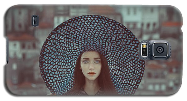 Hat And Houses Galaxy S5 Case by Anka Zhuravleva