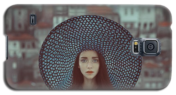 Portraits Galaxy S5 Case - Hat And Houses by Anka Zhuravleva