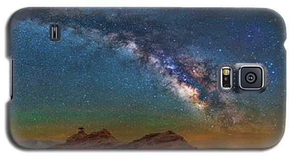 Hat Rock Milky Way Galaxy S5 Case