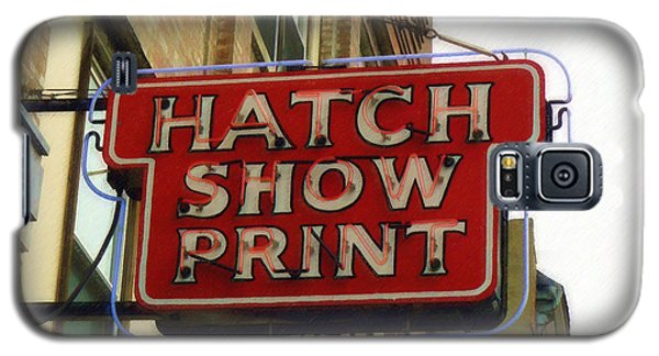 Hatch Show Print Galaxy S5 Case
