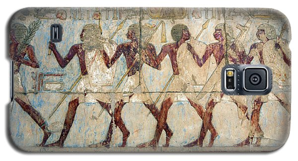 Hatshepsut Temple Parade Of Soldiers Galaxy S5 Case