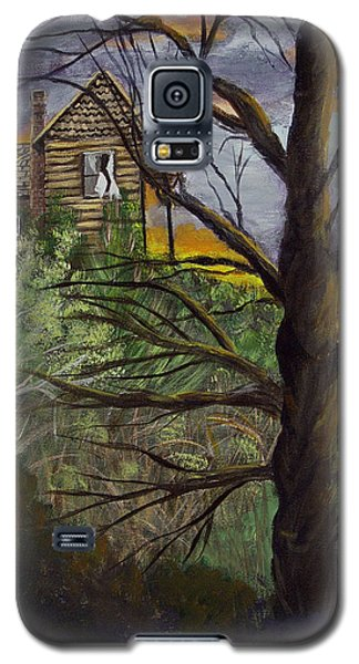 Haunted House Galaxy S5 Case by Quwatha Valentine