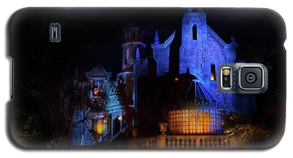 Haunted Mansion At Walt Disney World Galaxy S5 Case by Mark Andrew Thomas