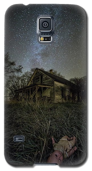 Galaxy S5 Case featuring the photograph Haunted Memories by Aaron J Groen