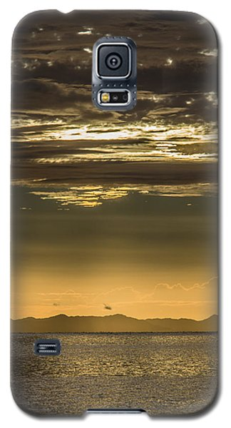 Hauraki Gulf At Sunrise Galaxy S5 Case