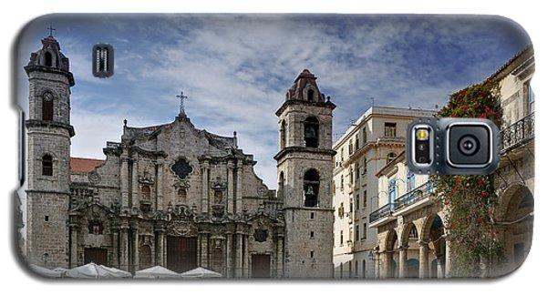 Havana Cathedral. Cuba Galaxy S5 Case by Juan Carlos Ferro Duque
