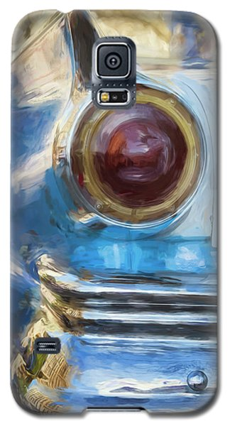 Galaxy S5 Case featuring the photograph Havana Cuba Vintage Car Tail Light Painterly by Joan Carroll