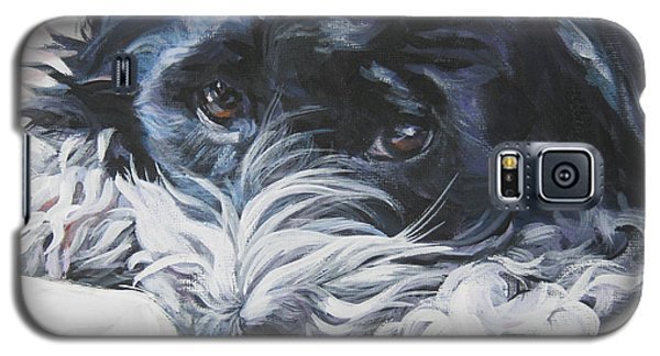 Havanese Black And White Galaxy S5 Case