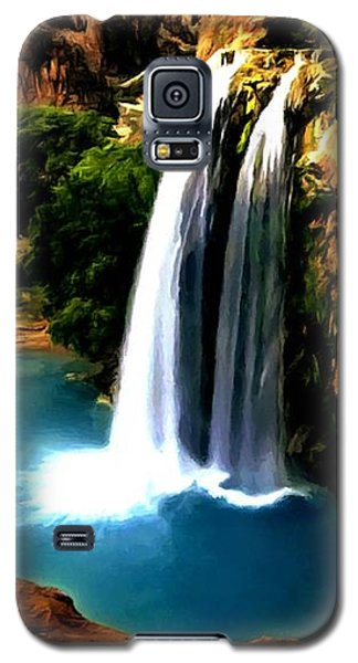 Havasu Waterfall Galaxy S5 Case