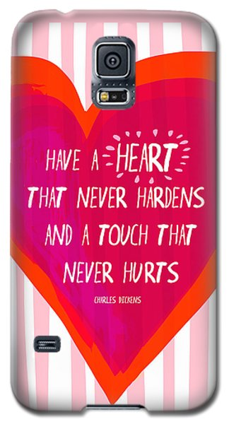 Have A Heart Galaxy S5 Case