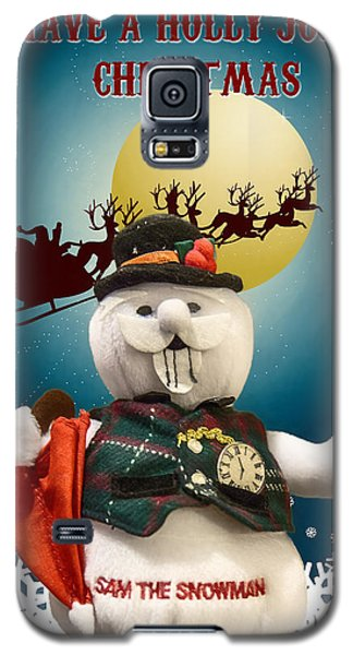 Have A Holly Jolly Christmas Galaxy S5 Case