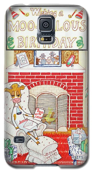 Have A Moovalous Birthday Galaxy S5 Case