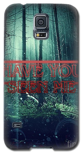 Galaxy S5 Case featuring the digital art Have You Seen Me by Mo T