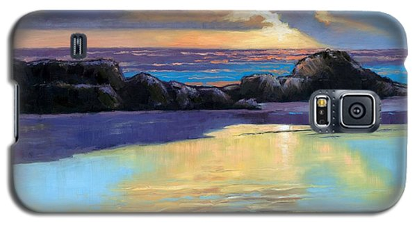 Havik Beach Sunset Galaxy S5 Case