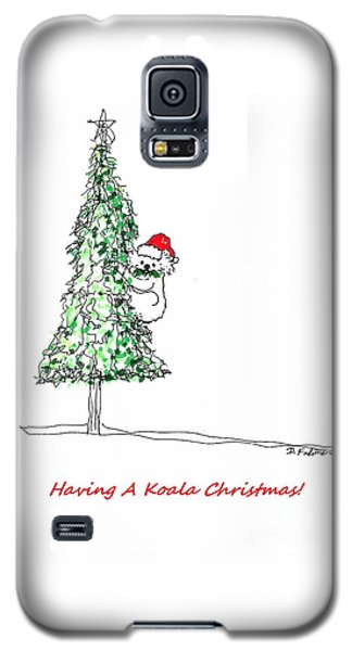 Having A Koala Christmas Galaxy S5 Case